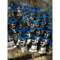 Buy cheap SW Socket Welded Forged Steel Gate Valve Normal Temperature Of Media from wholesalers