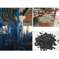 Wholesale Rubber Powder Fiber Separator Machinery Waste Tire Recycling Plant from china suppliers