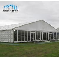 Buy cheap Commercial Expo Outdoor Market Tent Glass Walls Corrosion Resistance from wholesalers