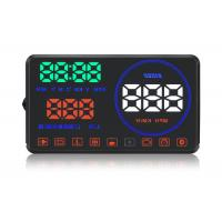 Buy cheap M9 Hud Auto Hud Display Water Temperature Alarm , Multi - Color Speed On Windshield Display from wholesalers