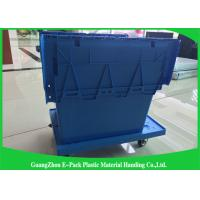 China Heavy Duty Big Plastic Shipping Containers With Attached Lids on sale