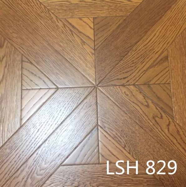 Quality Oak wood parquet floor for sale
