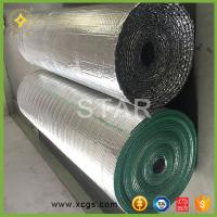 Floor heat insulation material with aluminum foil coating, Building thermal insulated material Manufactures