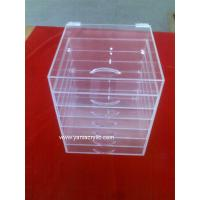 Buy cheap Fashionable Promotional Simple Acrylic Product Display For Bathroom / Dustbin Box from wholesalers