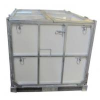 Buy cheap Foldable Steel IBC Containers Metal Material Heavy Duty Ibc Water Storage Tanks from wholesalers