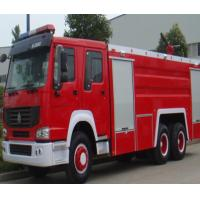 Wholesale Manual Transmission Type Fire Extinguisher Truck / Fire Fighting Vehicles 20.000 Liters from china suppliers