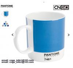 Buy cheap 11OZ white mug PANTONE colors cup 7461 7463 Color numbers ceramic mug from wholesalers