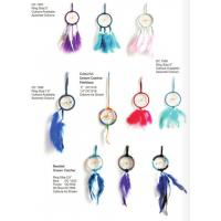 Buy cheap Best selling Indian style pink Feather Dreamcatcher car Dream Catcher Wind Chime from wholesalers