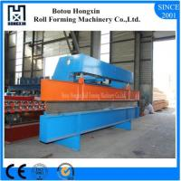 Buy cheap Gantry Type Roll Bending Machine Colored Steel / Galvanized Plate Suit from wholesalers