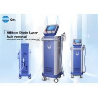 Buy cheap Painless and permanent hair removal 808nm diode laser machine 500W portable large spot size imported sapphire from wholesalers