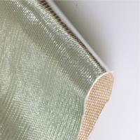 Buy cheap Radiant Barrier Aluminized Fiberglass Fabric Thermal Insulation AL2025 For Motor Vehicle from wholesalers