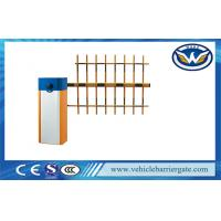 Buy cheap 2mm Cold Rolled Plate Parking Barrier Gate With Clutch Device Three Fence Arm from wholesalers