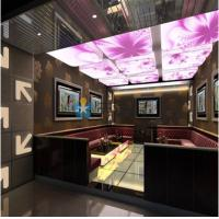 Buy cheap Unique Dreamlike 3D Stretch Ceiling Film For KTV Decoration Shadowless Lighting from wholesalers