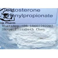 Buy cheap Testosterone Phenylpropionate CAS 1255-49-8 Fast Muscle Growth Steroids from wholesalers