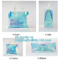 Buy cheap Custom Brand 100% ECO-Friendly Plastic/PP/PVC Handle bag for toy package, handle bag with snap button, packaging tote ba from wholesalers