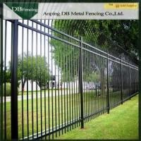 Buy cheap Outdoor Wrought Iron Security Fence / Powder Coated Picket Fencing For Garden from wholesalers