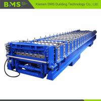 Buy cheap Corrugated Roof Roll Forming Machine , Corrugated Roof Iron Sheet Making Machine from wholesalers