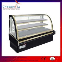 Buy cheap Marble Based Glass Commercial Cake Display Refrigerator For Bakery Equipment from wholesalers