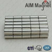 Buy cheap D10x30mm neodymium bar magnets n38 from wholesalers