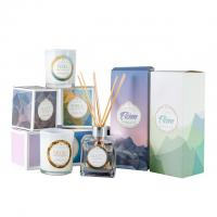 Wholesale HOT Selling scented candles & reed diffuser fragrance gift set with glass bottle from china suppliers