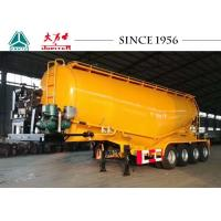 Buy cheap 40 Cbm Four Axle Bulk Cement Tanker Trailer Big Capacity Of Carbon Steel from wholesalers