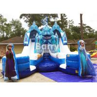 Buy cheap Customized Size Frozen Double Commercial Inflatable Slide Indoor And Outdoor For Kids from wholesalers