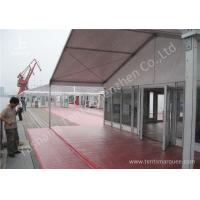 Buy cheap 15M Clear Span Aluminum Outdoor Event Tent Designed With Transprent Glass Wall from wholesalers