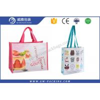 Buy cheap Economical PP Woven Shopping Bag Non - Leakage Non - Delaminating Packaging from wholesalers