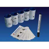 Buy cheap Electronic Grade IPA CR80 Datacard Cleaning Kit 5 Adhesive Cleaning Rollers from wholesalers
