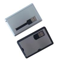 Buy cheap Business gift iterms credit card usb from wholesalers