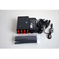 Buy cheap High Capacity Cellular Signal Jammer Signal Blocker All In One 3-8m Range from wholesalers
