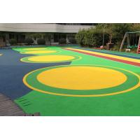 Buy cheap Office Buildings Outdoor Playground Surface Material Anti Slip Flooring from wholesalers