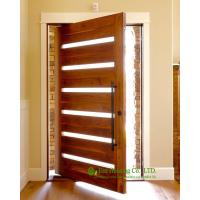Solid wood pivot front door for sale, modern external pivot doors, High quality pivot entrance door Manufactures