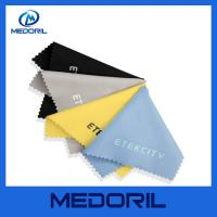 Buy cheap Factory custom print microfiber glasses cleaning cloth with customer logo from wholesalers
