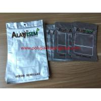 Buy cheap Silver foil zipper ziplock bag, packed with dried fruit, food, seeds from wholesalers