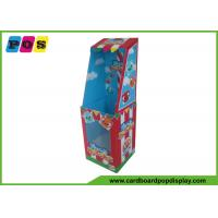 Buy cheap Point Of Purchase Dolls Cardboard Retail Display Stands With PVC Windows FL086 from wholesalers