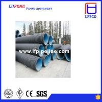 Buy cheap Rainwater Socket Corrugated HDPE Pipe from wholesalers
