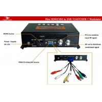Buy cheap 480P 720P 1080P HDMI USB To DVB-T RF Modulator from wholesalers