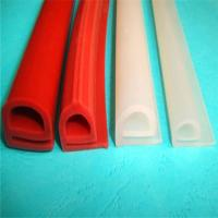 Buy cheap Durable Silicone Extruded Profiles Electrically Insulating With Dielectric Strength 500 V/Mil from wholesalers