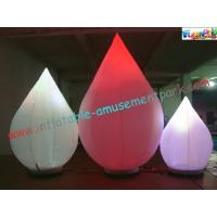 Wholesale Multicolor Club Inflatable Lighting Decoration Balloon , LED RGB Light Balloon  from china suppliers