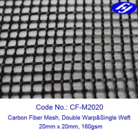 Quality 20MM X 20MM Carbon Fiber Mesh Fabric Sustainable Concrete For Structure Reinforcement for sale