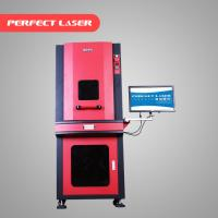 On Line Flying CO2 Laser Marking Machine 20W For Metal Ware / Watches Manufactures