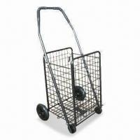 Wholesale 4 Wheels Foldable Luggage Cart with 35kg Capacity, Available in Various Colors from china suppliers
