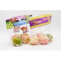 Buy cheap Clear Transparent Fresh Fruit Bags Breathable Laminated Plastic Gloosy / Matte Surface from wholesalers