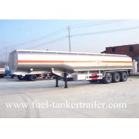 Buy cheap 50CBM 3 Axle Fuel Tanker Trailer with Common mechanical / Air Suspension from wholesalers