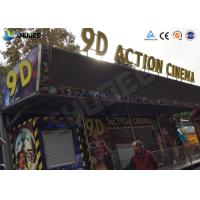 Wholesale 12 / 16 / 24 People 9D Movie Theater With Motion Chair For Amusement Park from china suppliers