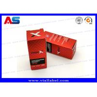 Buy cheap Matt Lamination Small Packaging Boxes 10ml Vials Injectable Steroids 325g Paper from wholesalers