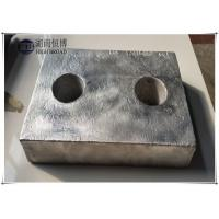 Buy cheap Condenser anodes, hull anodes for anti corrosion and cathodic protection from wholesalers