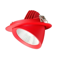 Buy cheap Kitchen Extra Warm White 170MM 175mm cut out 50W LED Scoop Downlight from wholesalers