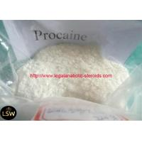 Buy cheap CAS 59-46-1 White Crystalline Powder Procaine Injectable Local Anesthetics from wholesalers